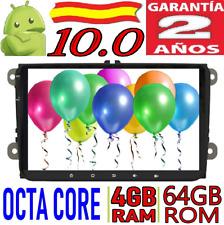 "9"" ANDROID 10.0 VW B6/CADDY/PASSAT/SAGITAR/GOLF COCHE CAR RADIO WIFI GPS 4GB SD"