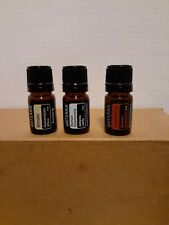 New***Doterra Hinoki, Roman Chamomile, Frankincense 5ml essential oil combo deal