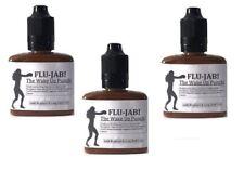 3X Flu Jab Mackenzie McKenzie Smelling Salts For Cattarh Head Colds & Congestion