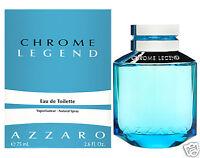 AZZARO CHROME LEGEND EAU DE TOILETTE HOMME VAPORISATEUR 75ml NEUF SOUS BLISTER