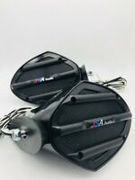 JETSKI MIRROR SPEAKERS PAIR STEREO UNIVERSAL FIT ON ALL MODELS DIY