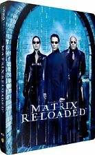 The Matrix Reloaded - Embossed Steelbook Blu-Ray Import - Region Free