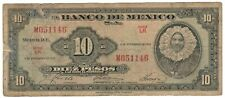 Mexico, 1961 - 10 Peso Series LR (See Scan) #1298