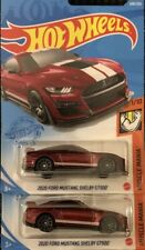Hot Wheels Gamestop Exclusive Red 2020 Ford Mustang Shelby Gt500 Lot Of 2 Vhtf