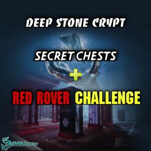 Deep Stone Crypt | Full Raid + Secret Cheest+ Red Rover Challenge/Xbox Ps4 |
