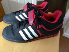 Adidas Powerlift 2Men's Power Lifting Shoes Black &Red 10 ½ - 44 2/3 285, 295
