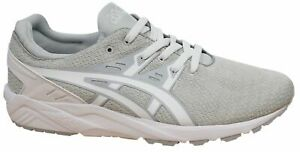 Asics Gel-Kayano Evo Lace Up White Synthetic Mens Trainers H742N 0101 B63E