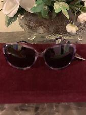 Revlon Women's Run 55 Purple Plasstic Frame Sunglasses Retail $ 19.99