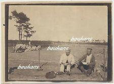 Foto Polen bei Koniecpol-Schlesien-Mittagspause A.A.Woyrsch Frühjahr 1915 (c381)