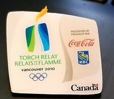 2010 Vancouver Olympics Coke Coca-Cola Torch RELAY Goverment Canada pin badge