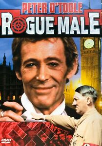 Rogue Male DVD - 1976 Peter O'Toole Drama Thriller