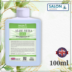 Salon 99.5% Pure Aloe Vera Soothing Gel natural Organic Skin Moisturizer 100ml