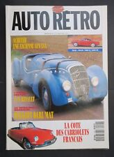 Revue Auto Moto Rétro n°129 4CV RENAULT PEUGEOT DARL'MAT VOLVO 1800 S ES