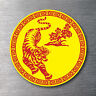 Chinese Tiger sticker 7 year water & fade proof vinyl laptop ipad car