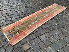 Patchwork, Turkish rug, Runner rug, Vintage rug, Handmade rug, Corridor 2x6ft.