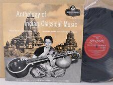 Alain Daniélou – Anthology of Indian Classical Music Part 3 LP Tabla/Flute EX-