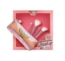 Soap & Glory Wonder Woman Brush Up Your Act Makeup Brushes Gift set