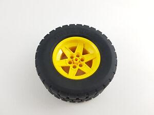 Lego® Technic Rad 15038c03 Reifen 94.3x38R mit gelber Felge aus Set 42030