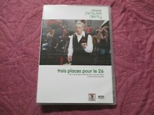 """DVD NEUF """"TROIS 3 PLACES POUR LE 26"""" Yves MONTAND Mathilda MAY Francoise FABIAN"""