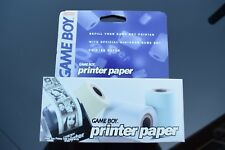 Genuine Nintendo Gameboy Printer Paper (3 rolls) - BRAND NEW SEALED ROLLS