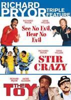 Richard Pryor Triple Feature See No Evil Hear No Evil + Stir Crazy + Toy DVD R4