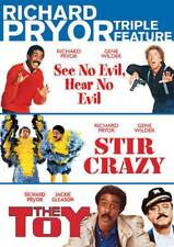 Richard Pryor Triple Feature See No Evil Hear No Evil + Stir Crazy + Toy DVD R4