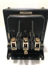 Joslyn Clark 110 Amperes 500 V.D.C MODEL 5DP3-5051-11 DC Drive Contractor USED