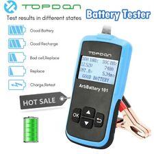 Car Battery Tester 12V OBD2 EOBD Auto Boat Analyzer System Diagnostic Scan Tool