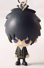 Gintama Bean Eyes Mascot PVC Keychain Figure Shinsengumi~ Toshiro Hijikata@49627