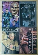 4 Stargate SG-1 Con Convention Special comics 2004 wrap serpent pho. 2006 photo