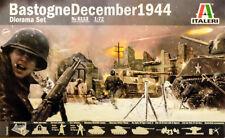 Bastogne December 1944 Diorama Set Belagerung Szene 1:72 Model Kit Italeri 6113