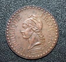 Jeton publicitaire de 1 centime type Dupré (bronze) Cognac Rémy Martin 1724