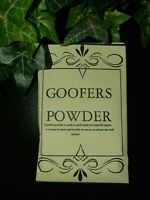 Goofers Dust Powder Witchcraft Spells Hexing Banishing Pagan Wiccan Witchcraft