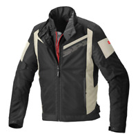 Spidi GB Breezy Net H2out CE Black Grey Motorbike Motorcycle Jacket