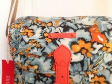 * Oilily Camo Flower M Shoulder Bag / Tasche Blue Mist * NEU *