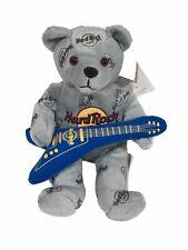 Herrington Teddy Bear Collectable Chicago Hard Rock Cafe Guitar Rocker 2007