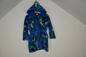 Disney Dressing Gown Mickey Mouse Dinosaur 18-23 months age 1-2 Hooded