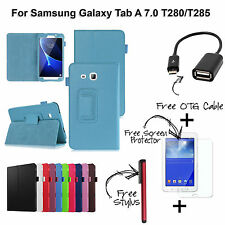 For Galaxy Tab A 7.0 T280/T285 Magnetic Folio Stand Case Cover For Tab A 7.0