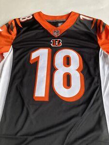 Nike NFL Cincinnati Bengals AJ Green #18 On Field Stitched Jersey Size Small