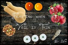 Pagan E-book: Feasting When the Veil is Thin  - PDF Download
