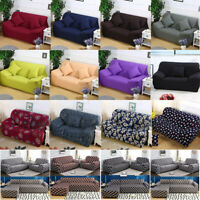 Stretch 1 2 3 4 Seaters Sofa Covers Loveseat Couch Chair Protector Slipcover US