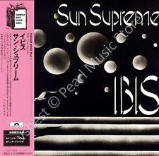 IBIS SUN SUPREME CD MINI LP OBI New Trolls Nico Gianni Frank Maurizio rock new