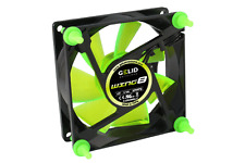 Gelid Gamer Wing 8 UV Green 80x25mm Case Fan.Retail Pkg
