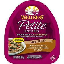 Wellness Petite Entrees Mini-Filets With Roasted Beef, Carrots & Red Peppers in