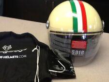 Arrow Italian Style Cafe Racer Helmet Size Large