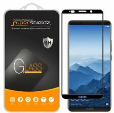 Huawei Mate 10 Pro Tempered Glass Screen Protector Full Coverage Black 2 Pack