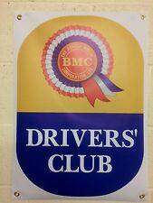 BMC Rosette Drivers' Club Banner 1 off 495mm wide x 700mm long