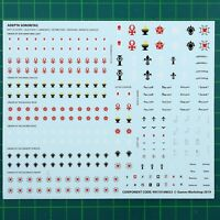 Adepta Sororitas Sisters of Battle Transfer Sheet 12573 Warhammer 40,000