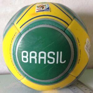 2010 South Africa FIFA World Cup Adidas Mini Soccer Ball - Brazil