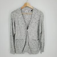 Cabi Womens Marble Cardigan Sweater Size Small Style 5286 Snap Buttons